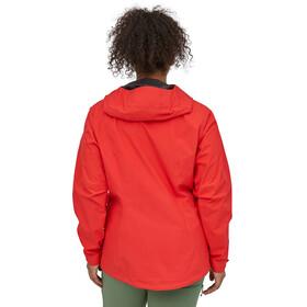 Patagonia Calcite Chaqueta Mujer, rojo